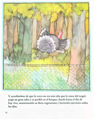 "�Pavo para la Cena de Gracias? �No, gracias! - ""Turkey for Thanksgiving Dinner?"" ""No, Thanks!"""