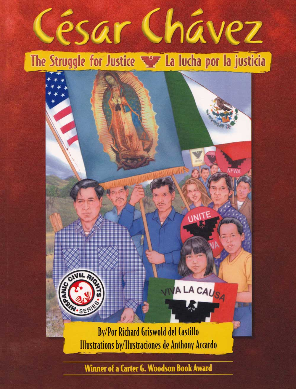 bilingual collection blue del sol books cesar chavez la lucha por la justicia cesar chavez the struggle for justice